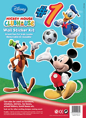 Disney Children's / Kids Collectors Wall Stickers - Mickey Mouse