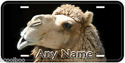 Camel Face Aluminum Any Name Personalized Tag Novelty Car Auto License Plate