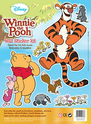 Disney Children's / Kids Winnie The Pooh Collectors Wall Stickers - Tigger