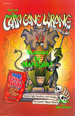Corn Nuts: BBQ: Corn Gone Wrong: The Devil Print Ad