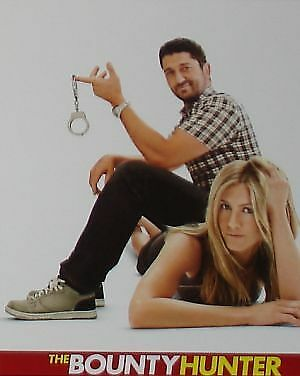 THE BOUNTY HUNTER - 11x14 US Lobby Cards Set - Gerard Butler, Jennifer Aniston