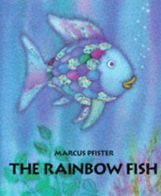 The Rainbow Fish by Marcus Pfister Hardcover Book (English)