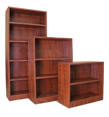 """71"""" Laminate Bookcase with Adjustable Shelves"""