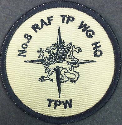 New No 8 RAF TP WG HQ Badge