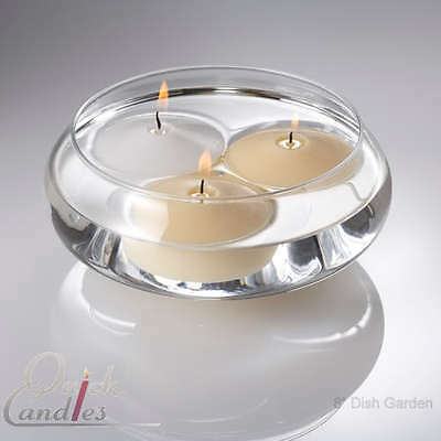 Eastland Floating Candle Bowls 8 Glass Centerpieces 1099 Picclick