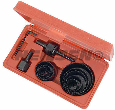 11 Pce Hole saw cutter drill bit set - suitable for wood alloys and sheet metal