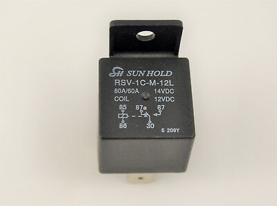 CAR BIKE 12V 70A 5 PIN CHANGEOVER RELAY SWICH waterprof