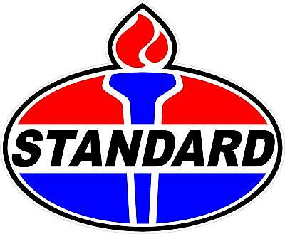 """18/"""" EARLY style STANDARD TORCH GAS PUMP OIL TANK DECAL"""