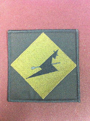 New  241 squadron patch olive on black 90mm x 90mm