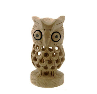 chouette bois sculpte collection peterandclo hibou B