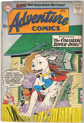 Adventure Comics Comic Book #262 DC Comic Book 1959 VERY GOOD+