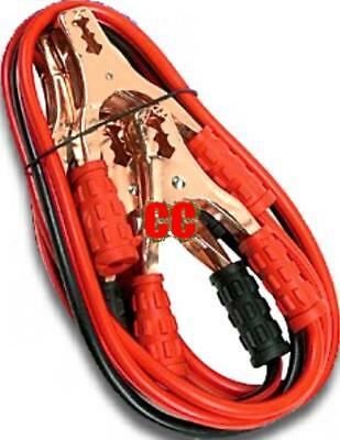 Car Booster leads jump start cables jumper lead battery Cables starter bump van
