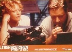 PROOF OF LIFE Lobby Cards Set Russell Crowe Meg Ryan