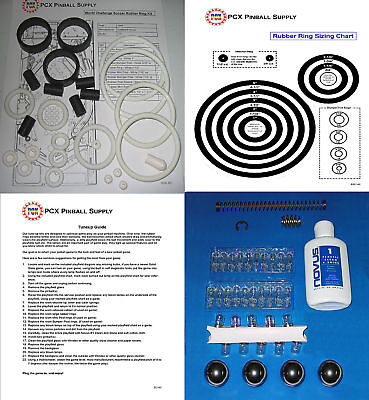 1994 Gottlieb/Premier World Challenge Soccer Pinball Machine Tune-up Kit