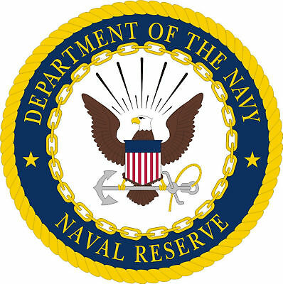 Naval Reserve Department Of The Navy Decal Sticker USA