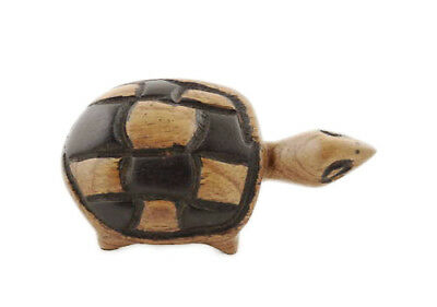 Tortue Turtle  Bois Africain Gambie Peterandclo 4