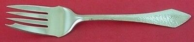 """Chatham Hammered by Durgin Sterling Silver Cold Meat Fork 7 1/2"""""""