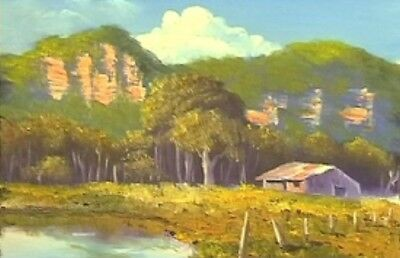Art Lesson Dvd - The Old Farm Shed