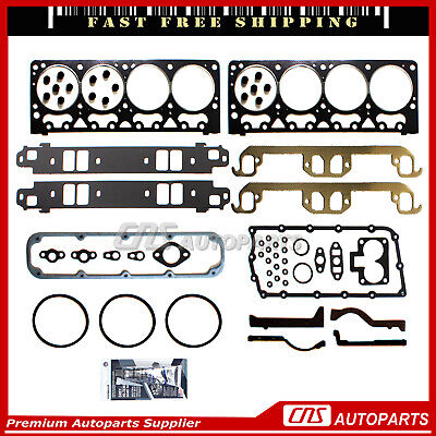 Head Gasket Set Fits 92-97 Jeep Grand Cherokee Chrysler Dakota 5.2L V8 OHV VIN Y