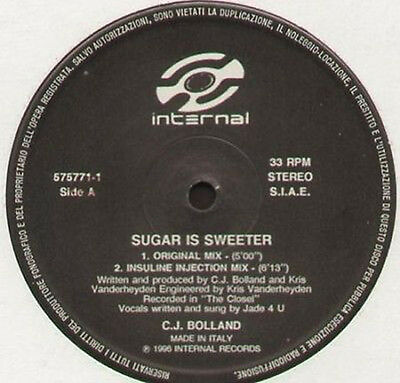 C.J. BOLLAND - Sugar Is Sweeter - 1996 Internal Italy - 575771-1