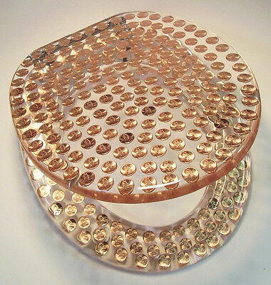 Standard Round Pennies Penny Coins Resin Toilet Seat