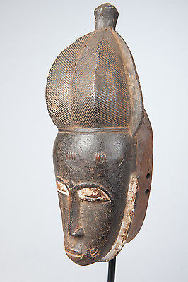 Baule Costume Mask,Ivory Coast , African Tribal Arts, African Masks