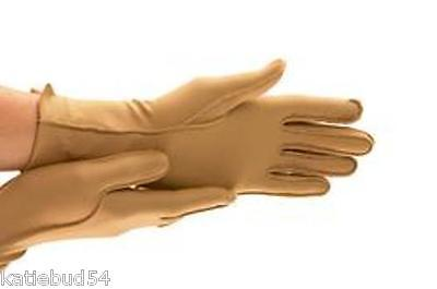 Isotoner CLOSED FULL Finger Therapeutic Compression Support Gloves Adult