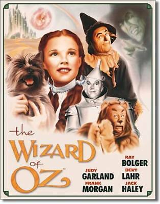 The Wizard of Oz Movie Poster Tin Sign Reproduction #2
