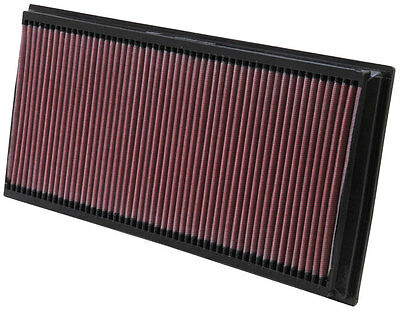 K&n Air Filter (X2) For Vw Touareg 5.0 V10 Diesel 02-10 33-2857