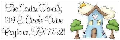 ~OUR HAPPY HOME~   Return Address Labels.
