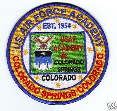 USAF BASE PATCH, US AIR FORCE ACADEMY, COLORADO *
