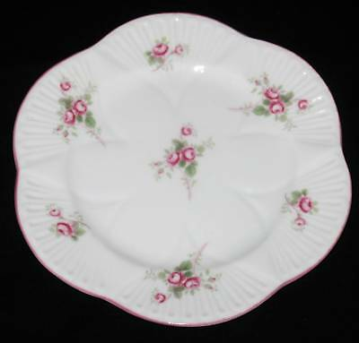 "Shelley BRIDAL ROSE 16545 Salad Plate, 8"" Across"
