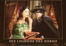 LEGEND OF ZORRO Lobby Cards Set Banderas, C. Z. Jones