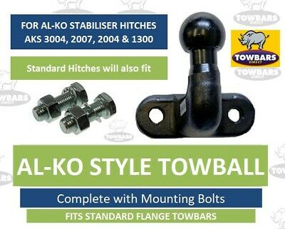 ALKO Towball Tow Ball for AL-KO AKS Caravan Stabiliser Hitches (Long High Reach)