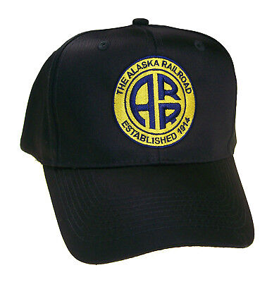 Alaska Railroad ARR Embroidered Cap Hat #40-0026