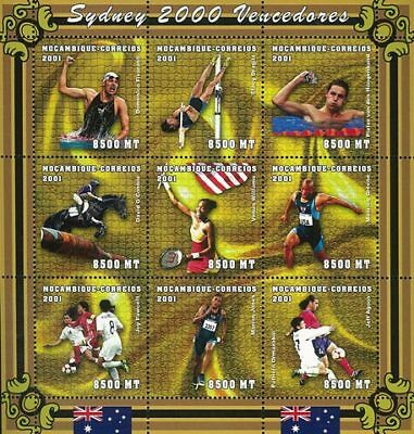 Mozambique 2001 Stamp, Olympic 2000 Sydney, Sport