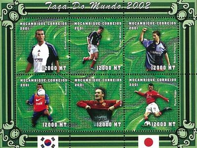 Mozambique 2001 Stamp, World Cup 2002 Football Sport 15
