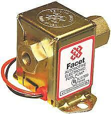 FACET Electric Fuel Pump Fast Road Solid State >150 BHP 40106 SS502