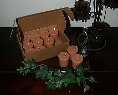 """Soy Votive Candles 12 Pk Box Kitchen Food Scents """"I-P"""" Seasons of the Earth"""
