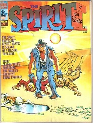 The Spirit Comic Magazine #5, Warren 1974 GOOD+