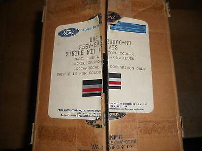 Nos 1985 Lincoln Continental Side Stripe Kit New Oem