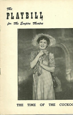 1953 Playbill- The Time of the Cuckoo (Shirley Booth)