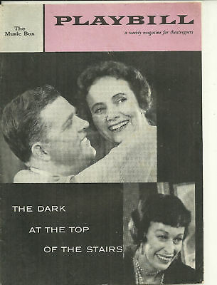 1958 Playbill- The Dark at the Top of the Stairs