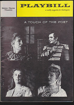 1950s Playbill- A Touch of the Poet (Helen Hayes)