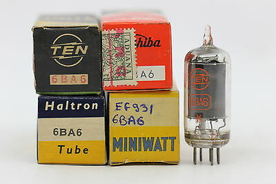 6Ba6 Tube. Ef93 Tube. Mixed Brand Nos / Nib. 1Pc Rc6.