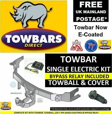 Flange Towbar for Land Rover Freelander 2 2006on Complete kit with Bypass Relay