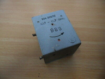 Microwave Waveguide Circulator 10.7-11.7 GHz WR75