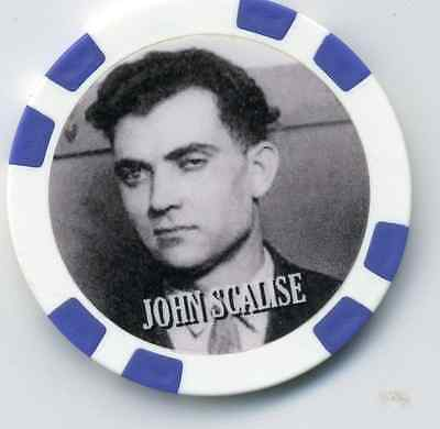 John Scalse  Gangster  Collector Chip