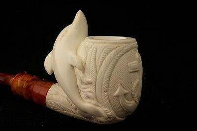 MARINER & DOLPHIN Meerschaum Pipe by I BAGLAN 1796 Pipa