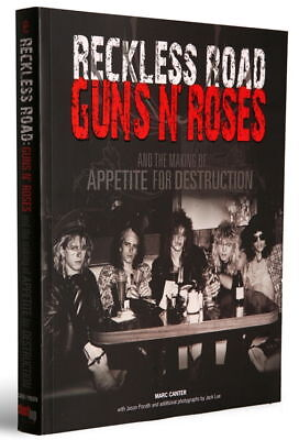 Guns N Roses signed Reckless Road book Slash Axl Rose 1985 photos & interviews